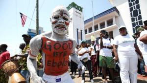 Liberya'dan Ebolaya Resmi Uğurlama