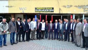 Milletvekili Adayı Ömer Ünal Akşehir'de Vatandaşla Buluştu
