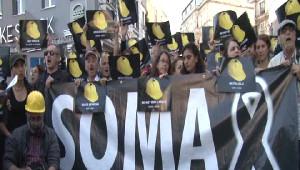 Beyoğlu'nda Soma İçin Yürüyüş...