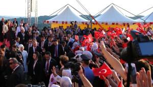 Cumhurbaşkanı Erdoğan, Preze Kalesi Camii'nin Açılışını Yaptı