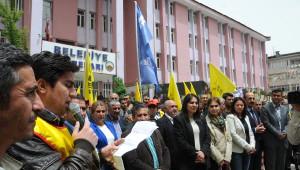 Hakkari'de Kesk Üyelerinden Soma'nın Yıl Dönümünde Basın Açıklaması