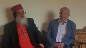 Miroğlu, Süryani Dernekler Federasyonu ve Morgabriel Manastırı'nı Ziyaret Etti