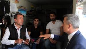 Ak Partili Ünal, Seçim Çalışmalarını Sultangazi'de Sürdürdü