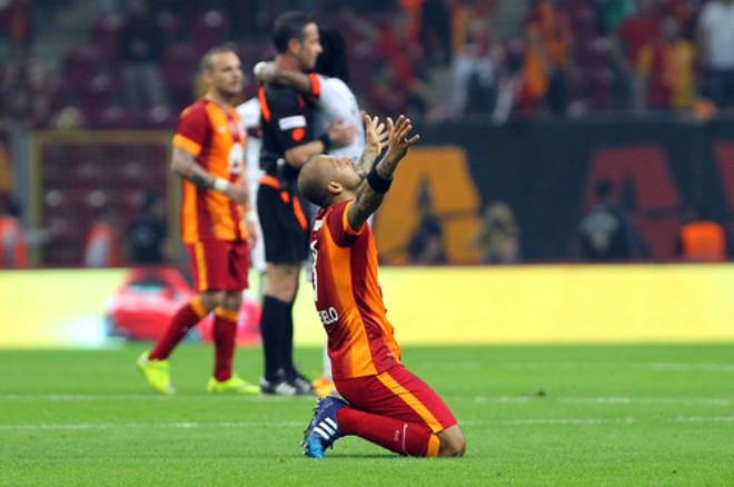 Galatasaray: 1 - Gençlerbirliği: 0