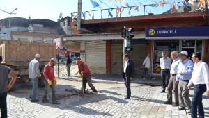 Kanatlı Caddesi Yol Yapımına Başlandı