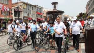 Mimar Sinan'a Saygı Turu'nda Pedal Çevirdiler