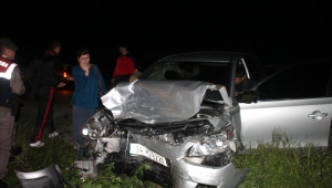 Zonguldak'ta Kaza: 1'i Çocuk 9 Yaralı