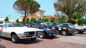 Klasik Otomobilciler Zeytin İçin Yarıştı