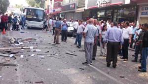 Mersin ve Adana HDP Binasındaki Patlamadan İlk Görüntüler