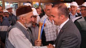 AK Parti Çan Seçim Bürosu Açıldı