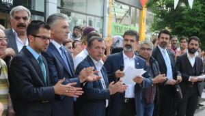 Gaziantep'te Hdp'lilerden Saldırıya Kınama