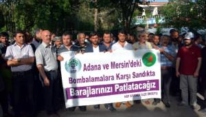 Hdp Siverek, Adana ve Mersin'deki Saldırıları Kınadı