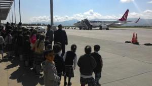 Öğrenciler, İlk Defa Havalimanı Gezdi
