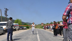 Pınarbaşı'nda Kros Yarışması