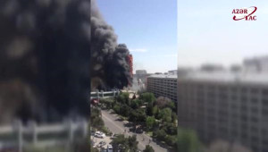 15 Kişinin Hayatını Kaybettiği Yangın Dehşeti Amatör Kamerada...
