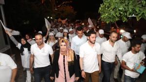 AK Parti Antalya Milletvekili Adayı Sena Nur Çelik Seçim Çalışmalarını Sürdürdü