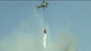 Azerbaycan'da Yangın Dehşeti.