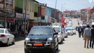 Bağımsız Aday Sait Şahin, Karlıova'da Halkla Buluştu