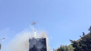 Bakü'de 16 Katlı Apartmanda Yangın Çıktı: 10 Ölü, En Az 40 Yaralı
