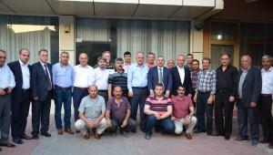 Başkan Baran ve Milletvekili Adayı Aygün Fatih Mahallesinde İncelemelerde Bulundular