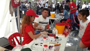 Elazığ'da '1 Kan Ver, 3 Hayat Kurtar' Sloganıyla 2 Günde 100 Ünite Kan Bağışlandı