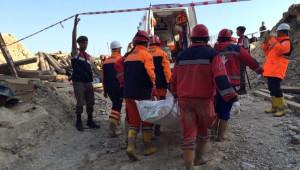 Göçükte Toprak Altında Kalan İşçinin Cansız Bedenine Ulaşıldı