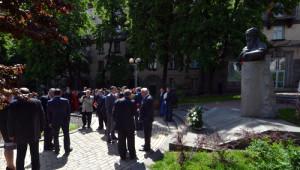 Kiev'de Türkmen Şairi Mahtumkulu Anıldı