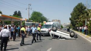 Pikniğe Giden Ailenin Otomobili Takla Attı: Dört Yaralı