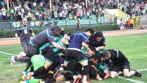 Sakaryaspor'da Büyük Sevinç