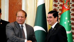 Pakistan Başbakanı Şerif, Türkmenistan'da