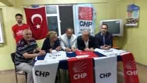 CHP Yığılcalı Seçmenden Oy İstedi