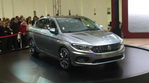 Fiat'ın Yeni Kompakt Sedanı Aegea da Fuarda