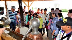 Tayvanlı Turistler, Gül Hasadına Şahitlik Etti