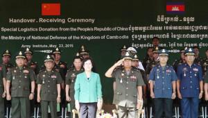 Çin Hükümetinden Kamboçya'ya Ağır Silah Yardımı