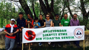 Tema Kayseri Oğuzlar Köyü'ne Fidan Dikti