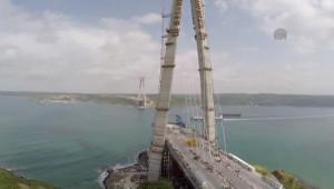 3. Köprü Havadan Görüntülendi