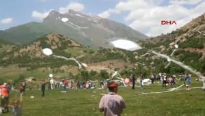 Beytüşşebap Kato Dağı'nda Uçurtma Şenliği