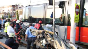 Tramvay Yolu 4.5 Saat Sonra Trafiğe Açıldı