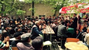 Kamil Aydın'a Bakan Gibi Karşılama