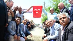 Büyükşehir'den Aladağ'a Yol