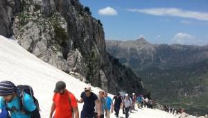 Prodoss Yaşar Kemal Anısına Ağca Dağına Tırmandı