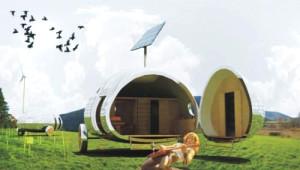 İşte Geleceğin Kapsül Evleri