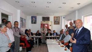 Yaşar'dan Kazan, Kızılcahamam ve Çamlıdere'ye Ziyaret