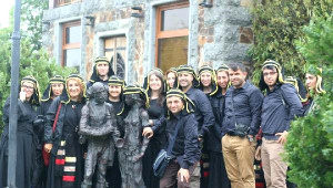 Yürüyen Budalalar'ı Gören Gürcüler Şaşırdı