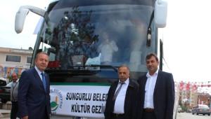 Sungurlu Belediyesi'nin Kültür Gezilerine Yoğun İlgi