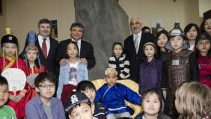Moğolistan Milli Müzesi Türk Eserleri Teşhir Salonu ve İdari Bölümü Hizmete Açıldı