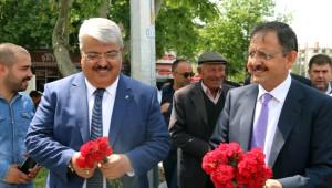 AK Parti'den Talas'ta Sevgi Yürüyüşü