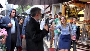 Bakan Yıldız Kayseri'de Esnafı Ziyaret Etti