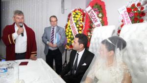 Başkan Yaralı Personelinin Nikahını Kıydı