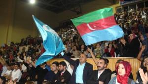 Karaman'da MHP'liler Ali Kınık ve Ahmet Şafak'la Coştu